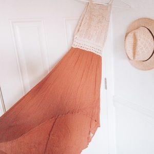 Papaya Blush colored summer dress